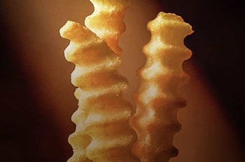 Profile --- Crinkle Cut Fries